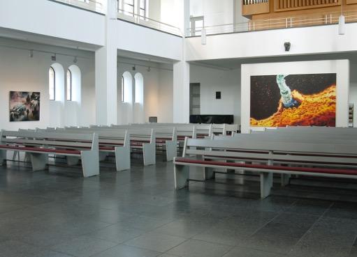 Yang Shaobin, Voca me cum benedictis, St. Matthäuskirche, Berlin, 2006, Foto: Uwe Gaasc