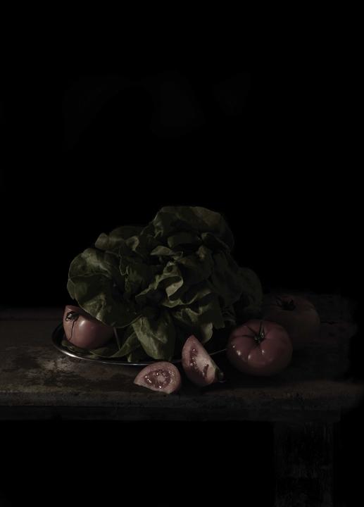 Mat Collishaw, The Last Meal on Death Row, Texas (Chester Wicker), 2011, c-prints auf Leinwand, 64,8 x 47,5cm Courtesy Blain Southern Berlin und SØR Rusche Sammlung Oelde/Berlin, © Mat Collishaw und VG Bild-Kunst, Bonn 2015