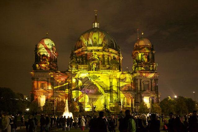 Berliner Dom, Festival of Lights, Foto © Luzia Simons